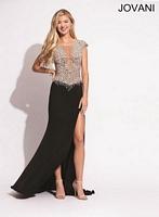 Jovani 91032 Jersey Formal Dress image
