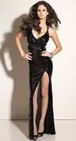 Flaunt All Over Sequin Prom Dress 91101 by Mori Lee image