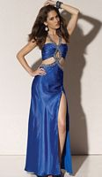 Flaunt Prom Dress with Bodice Cut-Out 91121 by Mori Lee image
