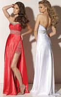 Prom Dresses 2012 Flaunt Prom Dress 91128 by Mori Lee image
