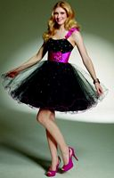 Sticks and Stones by Mori Lee Short Tulle Dress for Homecoming 9142 image