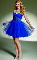 Fun and Flirty Sticks and Stones by Mori Lee Party Dress 9144 image