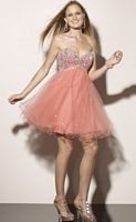 Sticks and Stones Short Tulle Party Dress 9177 by Mori Lee image