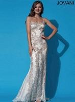 Jovani 92388 Lace Formal Dress image