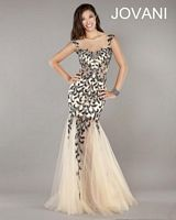 Jovani Formal Dress 926 with Sheer Illusion image