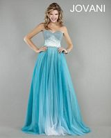 Jovani Formal Dress 927 with Ombre Full Skirt image