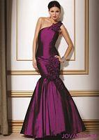 Jovani Purple Black Iridescent Evening Dress 9308 image