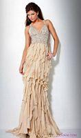 Jovani Ruffle Evening Dress 9376 image