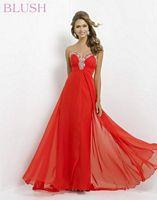 Blush 9388 Beaded Pastel Evening Dress image