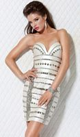 Jovani Glitzy Homecoming Cocktail Dress 9388 image