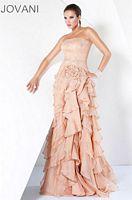 Jovani Tiered Ruffle Evening Dress 9408 image