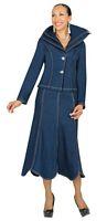 Devine Denim 95572 Womens Denim Suit image