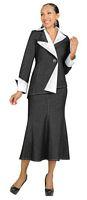 Devine Denim 95742 Womens Black and White Suits image