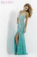 Blush 9701 Pearl Jewels Evening Dress image