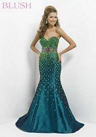 Blush 9704 Flattering Waist Mermaid Dress image