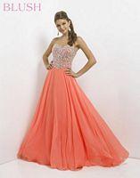 Blush 9758 Antique Jewels Evening Dress image