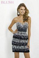 Blush 9789 Hot Short Party Dress image