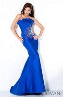Jovani 9910 Ruffle Mermaid Dress image