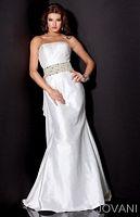 Jovani Ruffle Back Prom Dress 9915 image