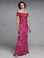 Capri by Mon Cheri Off the Shoulder Evening Dress CP11134-2 image
