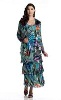 Capri CP2901-41 Ankle Length Mother of the Bride Dress with Jacket image