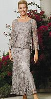 Soulmates Silk Mother of the Bride Dress D1104 image