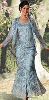 Soulmates Silk Mother of the Bride Dress D7068 image