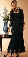 Soulmates Silk Evening Dress D8066 image