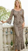 Soulmates Silk Evening Dress D8785 image