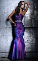 BG Haute Purple Couture Princess Mermaid Prom Dress E19108 image