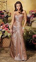 Iridescent Taffeta Jordan Couture Collection Bridesmaid Gown 1014 image