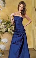 Size 12 Side Draped Jordan Bridesmaid Dress 816 image