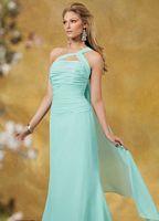 Size 10 One Shoulder Chiffon Jordan Bridesmaid Dress 833 image