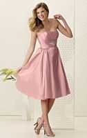 Size 8 Short Iridescent Taffeta Jordan Bridesmaid Dress 962 image