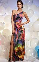 Terani Dramatic Floral Print Prom Dress JP601 image