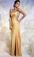 Terani Sexy One Shoulder Prom Dress with Side Cutouts JP603 image