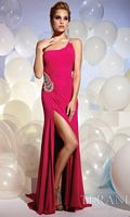 Terani One Crystal Stone Strap Prom Dress JP606 image