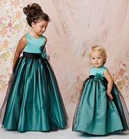 Size 2 White Sweet Beginnings L278F Tulle Overlay Flower Girls Dress image