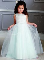 Jordan Sweet Beginnings Tulle Flower Girl Dress L886 image