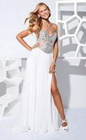Terani P1529 Chiffon Evening Dress with Jewel Encrusted Bodice image