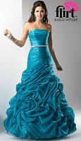 Flirt Organza Pickup Prom Dress P1600 image