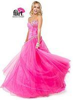 Flirt P4803 Asymmetrical Ball Gown image