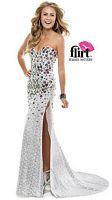 Flirt P7855 Slim Sequin Evening Dress image