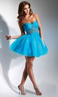 Flirt Short Tulle Homecoming Party Dress PF5021 image