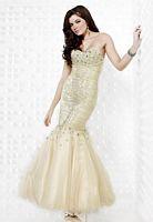 Riva Designs Sequin Mermaid Prom Dress R9402 image