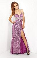Riva R9559 Allover Sequin Gown image