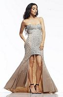 Riva R9771 High Low Party Dress image