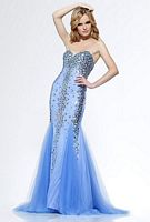 Riva R9780 Mermaid Dress with Godets image