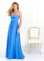 Dessy Bridesmaid Dresses After Six Long Bridesmaid Dress 6525 image