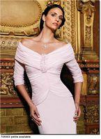 Petite Daymor Couture Off the Shoulder Formal Evening Dress 705003 image